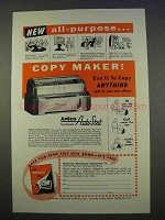 1955 Apeco Systematic Auto-Stat Copier Ad - All-Purpose