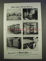1955 Mosler Safe Ad - What Name Will You Find On