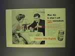 1955 Chivers Olde English Marmalade Ad - This is Real