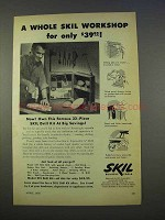 1955 Skil Drill Kit Ad - A Whole Workshop