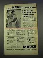 1955 Mopar Car-Care Products Ad - Car-Care Month!