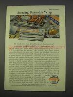 1955 Reynolds Wrap Ad - Amazing