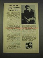 1955 Postum Drink Ad - Feel Like Trading Yourself In?