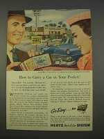 1955 Hertz Rent A Car Ad - Carry In Your Pocket