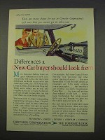 1955 Chrysler Corporation Ad - Should Look For