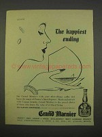 1955 Grand Marnier Ad - The Happiest Ending