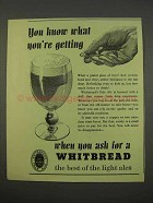 1955 Whitbread Pale Ale Ad - Know What You're Getting