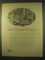 1954 Esso Oil Ad - Every Man a Debtor to His Profession