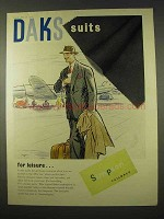 1954 Daks Suits Ad - For Leisure