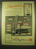 1954 Coventry Climax 6000 Fork Lift Ad - Sky-Zone