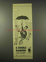 1954 Double Diamond Ale Ad - Works Wonders