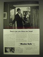 1954 Mosler Safe Ad - There's Just One Thing You Forgot