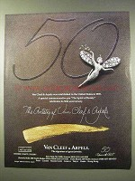 1989 Van Cleef & Arpels Ad - The Spirit of Beauty Pin