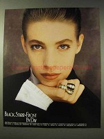 1988 Black, Starr & Frost Jewelry Ad - By Day