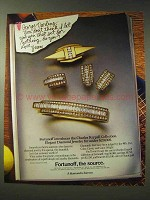 1987 Fortunoff Jewelry Ad - Don't Think I Let You Win