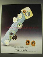 1987 Tiffany & Co. Allures Collection Jewelry Ad