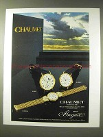 1986 Chaumet Breguet Watches: BA 3130, BA 3210/2