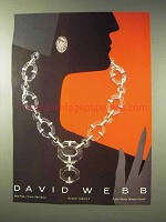 1985 David Webb Jewelry Ad