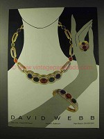 1982 David Webb Jewelry Ad