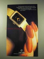 1981 Concord Jeweled Mini-Quartz Watch Ad