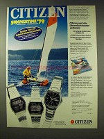 1979 Citizen Watch Ad - in German -  Quartz Digi-Ana +