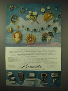 1967 Krementz Jewelry Ad - Quickly Recognized