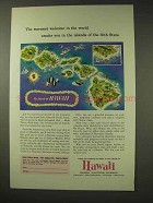 1960 Hawaii Tourism Ad - Warmest Welcome in The World