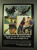 1977 U.S. Marines Ad - Rest Of Your Life Begins Today