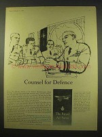 1960 Royal Air Force Ad - Counsel for Defence