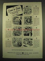 1949 American Can Company Ad - Story of Food - Fruit