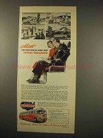 1949 Trailways Bus Ad - Most For Your Dollar