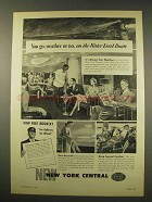 1949 New York Central Railroad Ad - Water Level Route