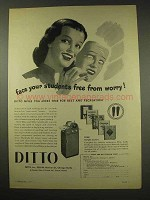 1949 Ditto Duplicator Ad - Face Your Students Free