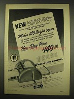 1949 Ditto D-10 Duplicator Ad - Makes 140 Bright Copies