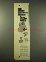 1949 Sani-Flush Toilet Cleaner Ad, Material to Teachers