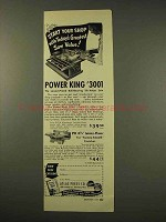 1949 Atlas Press Power King #3001 Tilt/Arbor Saw Ad