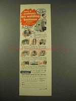 1949 Hobart Arc Welder,  Power Generator Ad