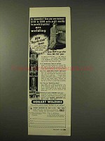 1949 Hobart Arc Welder Ad - Be Independent!