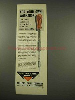 1949 Millers Falls Automatic Ratchet Screw Driver Ad