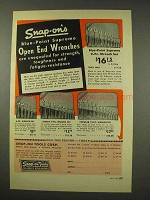 1949 Snap-On Tools Wrench Sets Ad - Blue-Point Supreme