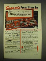 1949 Snap-On Tools Ad - Ferret Set