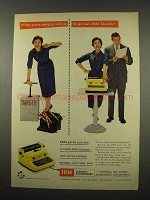 1957 IBM Electric Typewriter Ad - What People Will Do