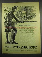 1957 Thames Board Mills Limited Ad - Things At Sea