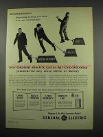 1957 General Electric Air Conditioning Ad - Any Store