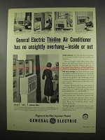 1957 General Electric Thinline Air Conditioner Ad