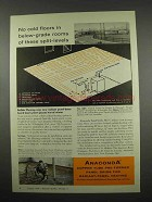 1957 Anaconda Copper Tube Ad - Radiant-Panel heating