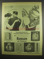1957 Ronson Cigarette Lighter Ad - Essex, Viking, Capri
