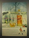 1957 Johnnie Walker Scotch Ad - Secrets of the Seasons