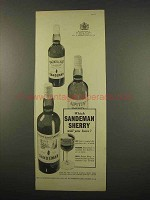 1957 Sandeman Sherry Ad - Which Will You Have?