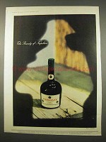1957 Courvoisier Cognac Ad - The Brandy of Napoleon